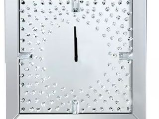 Elina Furniture Of America Mirrored Wall Clock 20 x20