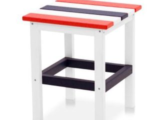 Hawkesbury Recycled Plastic Side Table by Havenside Home   15  x 15  Retail 86 99