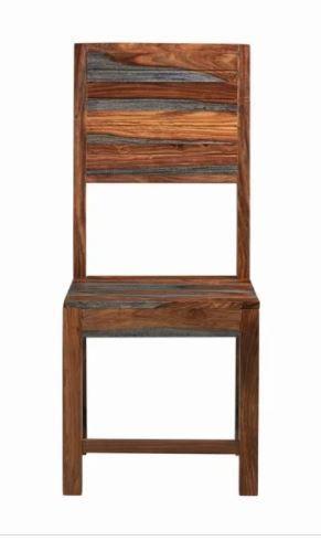 Carbon loft Wallis Grey Sheesham Desk Chair  Retail 149 99