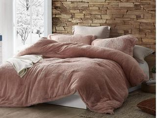 Coma Inducer Oversized King Comforter   The Original Plush   Sepia Rose  Shams not Included  Retail 122 49