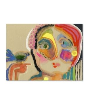 Wyanne  The Talker  Canvas Art 18  x 24