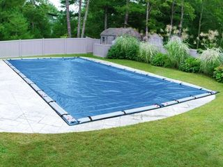 Robelle Blue Mesh Winter Cover for In Ground Swimming Pools  Retail 127 71