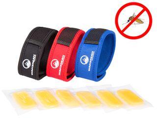 Wakeman Mosquito Repellent Bracelets 3 Wristbands