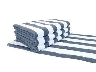 Cali Cabana Beach Towels  4 Pack  30 x 60 in    Oversized pool towels