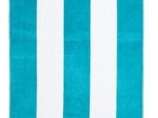 Superior Oversized Cabana Stripe Cotton Beach Towel Set Of Two 34x64