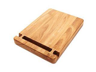 Ironwood Gourmet Cutting Board with Knife Holder  Acacia Wood