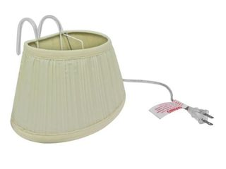 Evelots Headboard lamp  Over The Bed Reading light with Shade  Set of 2