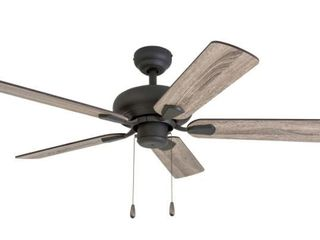 The Gray Barn Heddinge Traditional 42 inch Aged Bronze Ceiling Fan in Barnwood Tumbleweed Blades  Retail 95 19