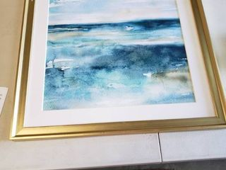 Wash Over Me II  Framed Giclee Print   Damaged  See Pictures