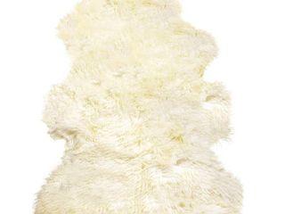 New Zealand Sheepskin Curly Rug