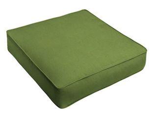 Sunbrella Indoor Outdoor Back amp Seat Cushion  23 5 inx 18 in