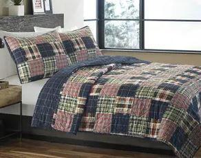 Eddie Bauer Madrona Cotton Full Queen Quilt Set  Retail 84 18