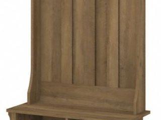 Salinas Hall Tree with Shoe Storage Bench by Bush Furniture  Retail 216 49