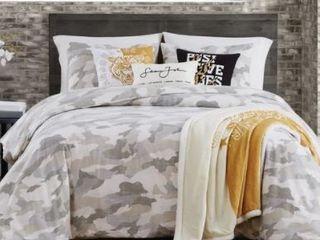 Sean John Garment Washed Camo King Comforter Set Bedding