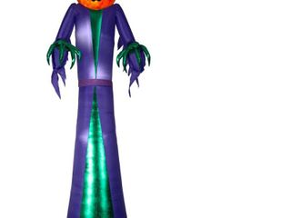 Airblown Inflatables 4 ft  W x 3 ft  D x 12 ft  H Fire and Ice Reaper  Retail 97 49