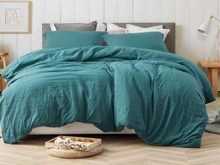 Porch   Den Arlinridge Ocean Depths Teal King Comforter  Retail 145 07