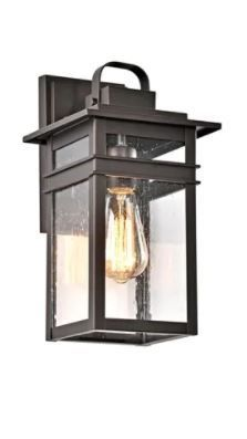 Starlee Box Outdoor Wall Fixture by Havenside Home  Retail 82 49