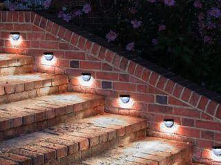 Solar lights lED Outdoor Solar lighting Waterproof Sensor light  Pack of 4