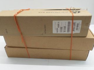 lot 4 of HP Speaker bars for computer