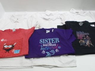 lot of 8 T shirts for Girls