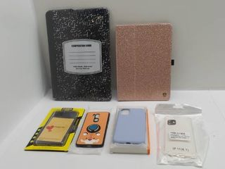 lot of misc cases for phone   laptop