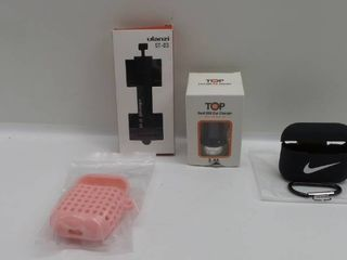 lot of misc accesssories for ipods  phone   USB car charger
