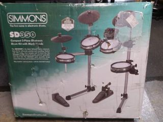 Simmons SD 350 Compact 5 Pieace electric Kit