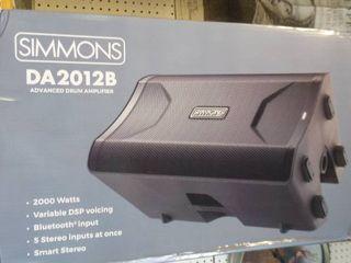 Simmons DA2012B 2000 Watts Bluetooth Speaker