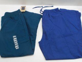 lot of 2 nurse pants sizes l   S