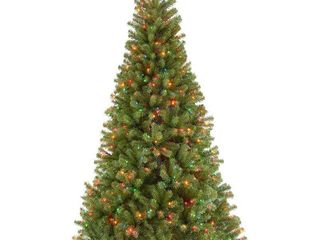 6 5 ft  North Valley Spruce Tree with Multicolor lights  Retail 171 99