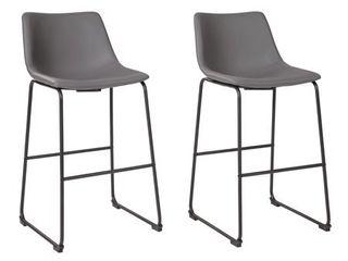 Centiar Upholstered Stool Set of 2  Retail 171 71