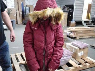 orolay winter coat marron medium
