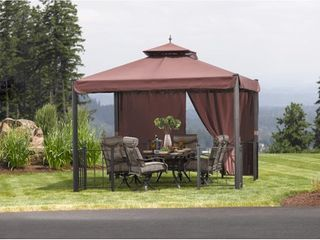 Sunjoy replacement cover only fr l GZ262PST 1A 10X12 Harvest Sky Gazebo  Retail 115 49