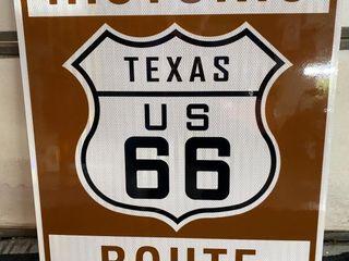 Historic 66 Texas  24x30