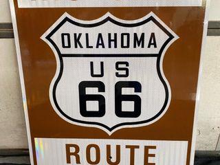 Historic 66 Oklahoma  24x30