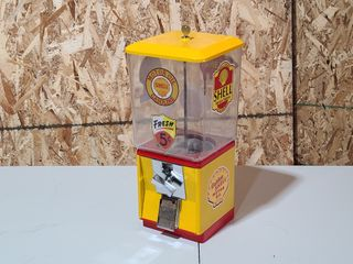 Shell 25cent restored gumball machine w key