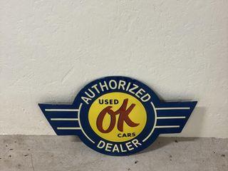 OK Used Cars SST decorator sign