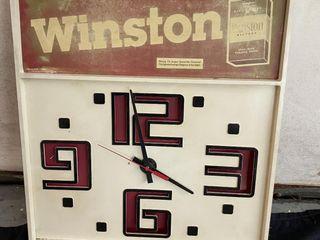 Winston clock 16x18