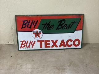 Buy the Best Buy Texaco SST decorator sign