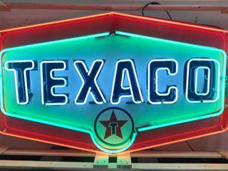 Texaco neon  36 x60