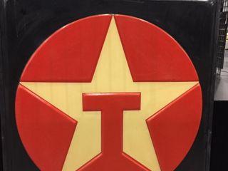 Texaco sign face  6