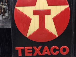 Texaco sign face  6 x7
