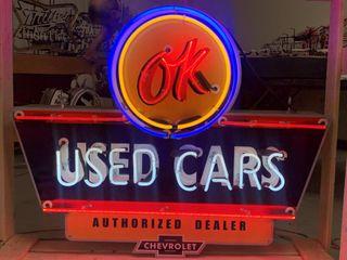 OK Used Cars Chevrolet Authorized Dealer neon
