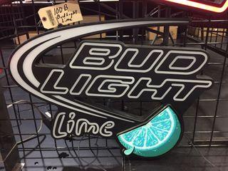 Bud light lime neon 29 x22