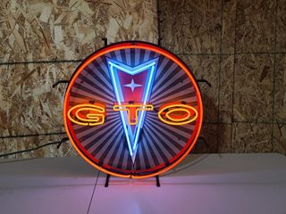 GTO neon sign 24in