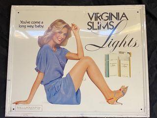 Virginia Slim lights SST 17x22