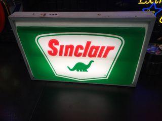 Sinclair Dino lightup sign  24 x37