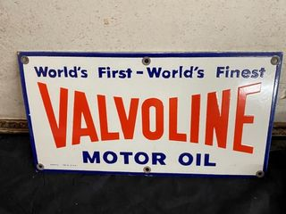 Valvoline Motor Oil SSP 12 x 6 1 2