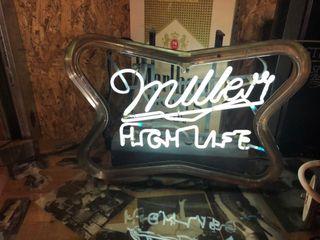 Miller Highlife 3 way neon  16 Tx22 W