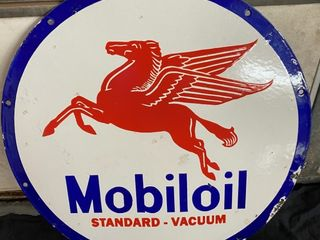Mobil Oil DSP 30  round